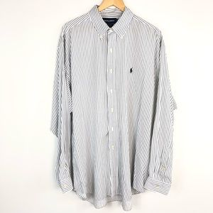 Ralph Lauren Golf Blake Striped Button Down Shirt